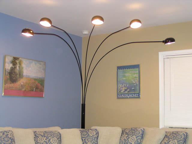 spider lamp. Black Bedroom Furniture Sets. Home Design Ideas
